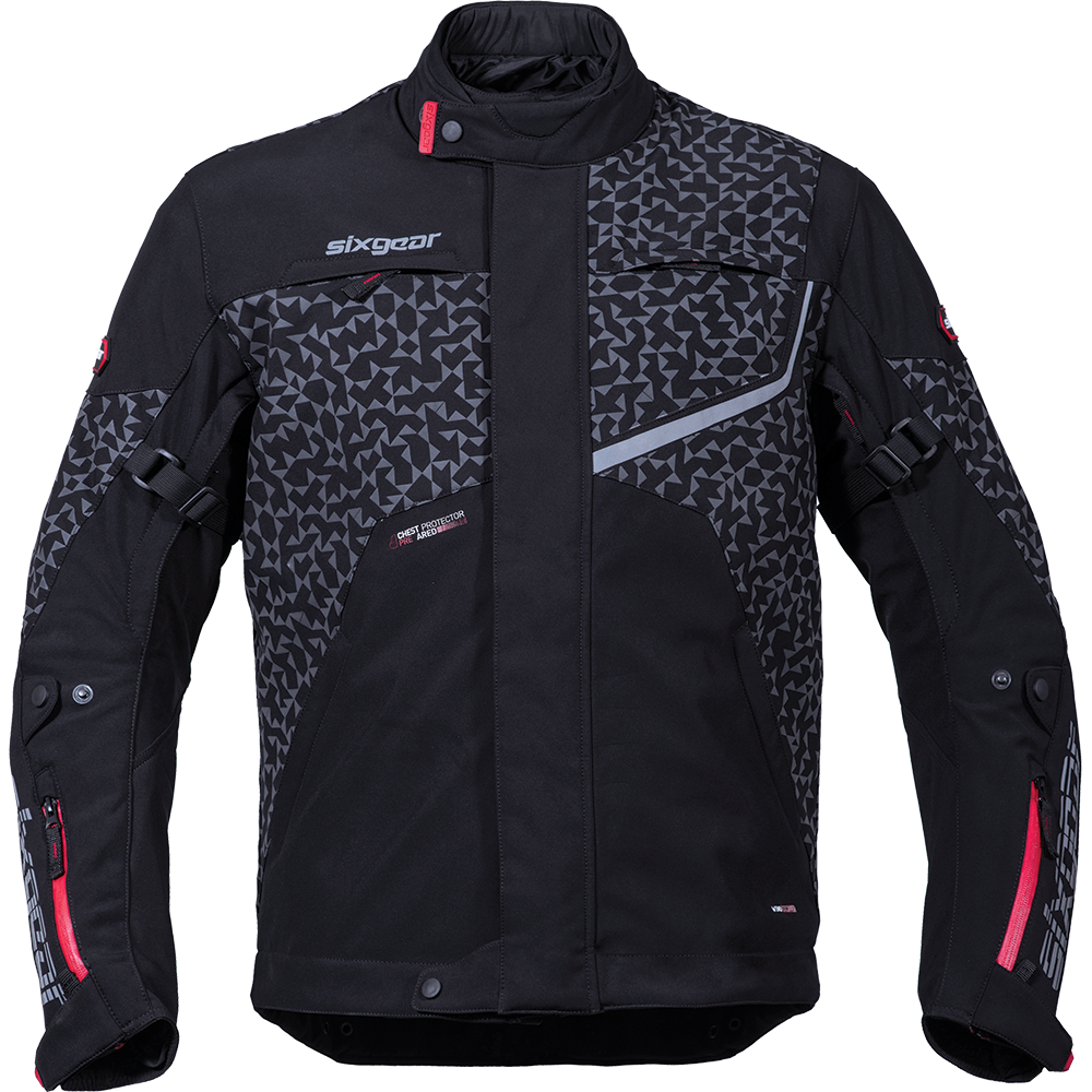 SIXGEAR FLASH MOTOROS SOFTSHELL DZSEKI